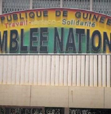 Le siège de l'Assemblée nationale de Guinée © Hémicycles d'Afrique