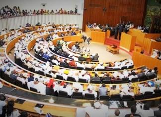 Les députés lors de leur séance plénière à l'Assemblée nationale du Sénégal © Vonews Afrique/ HA