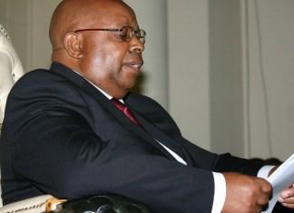 Jacob Mudenda, président de l'Assemblée nationale de Zimbabwe © The Zimbabwe Mail
