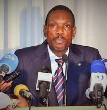 Le député Jean Apollinaire Tsiba, membre du parti UPADS de la République du Congo © Parlement Congo/ HA