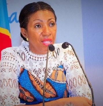 La présidente de l'Assemblée nationale de la RD Congo, Jeanine Mabunda © Jeanine M/ HA
