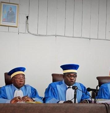 Les juges de la Cour constitutionnelle de la République démocratique du Congo © Rfi / HA