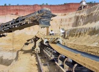 Un des sites d'exploitation minière au Togo © Togo First / HA