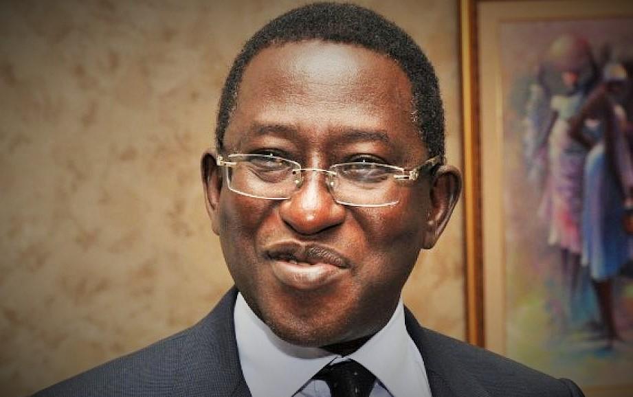Soumaila Cissé, député, président de l'URD et Chef de file de l'opposition politique malienne © Rfi / HA