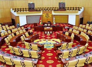L'Assemblée nationale du Ghana © Commonwealth Parliamentary Association UK