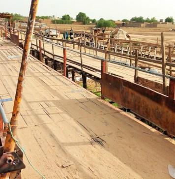 Un pont communautaire, à double voie, reliant plusieurs quartiers périphériques de N'Djaména © Abel T. / HA