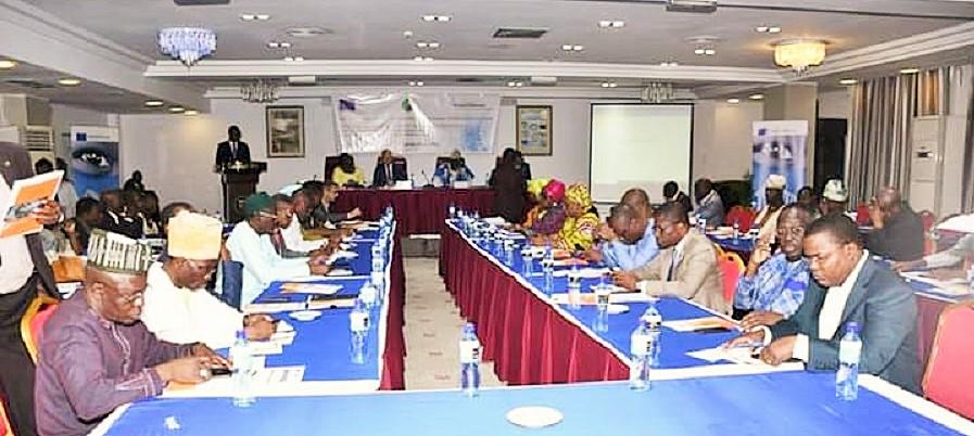 Les députés lors du séminaire de formation ce 27 septembre 2019 à Cotonou © Frank Koffi/ AN