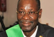 Le député Marcellin Ahonoukoun, président du groupe parlementaire Union progressiste (UP) à l'Assemblée nationale du Bénin © Koffi / H.A