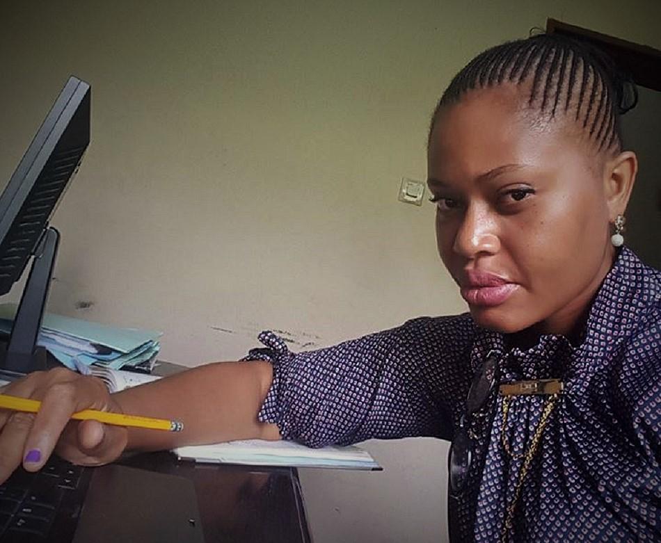 Lucie Muteba, avocate et défenseure des droits des consommateurs/udecom © FM/ HA