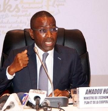 Amadou Hott, ministre de l'économie, du plan et de la coopération du Sénégal © Réussir Business