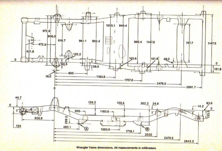 yj frame diagram wiring diagrams clicks