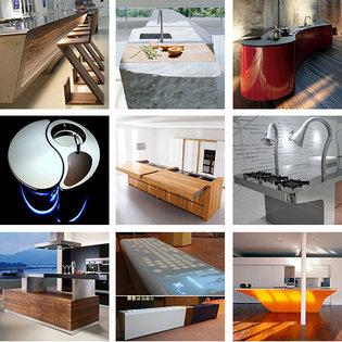 Massor av kök och inspiration - form, färg och lösningar
