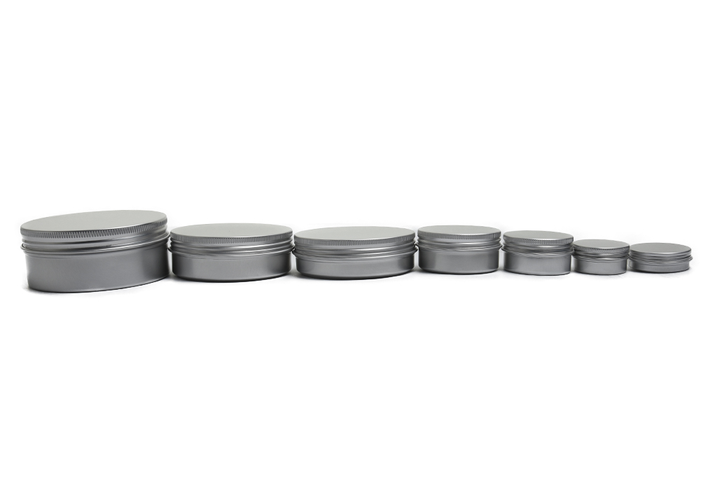 Aluminum Jars with screw Cap