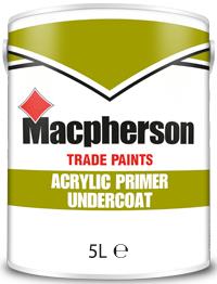 Macpherson Acrylic Primer Undercoat 5L White
