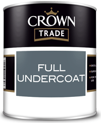 Full Undercoat 1L White, Dark Grey