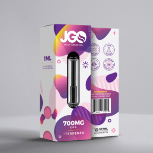 Product Image: JGO+ 700 mg CBD, Terpene Infused Vape Cartridge