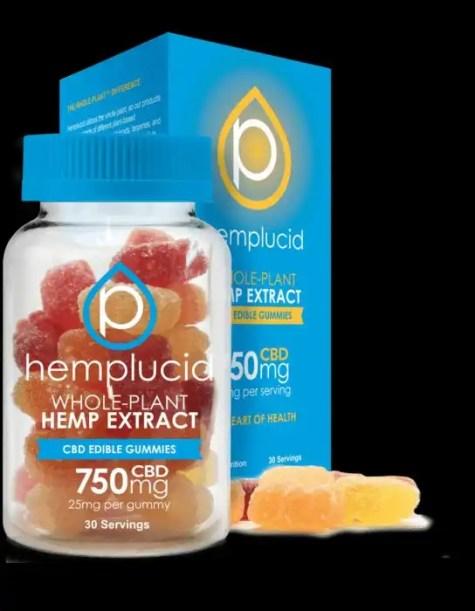 Hemplucid CBD Full Spectrum Hemp Extract Gummy Bears - 5-30 Count