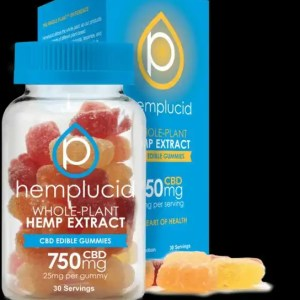 Hemplucid CBD Full Spectrum Hemp Extract Gummy Bears - 5-30 Count