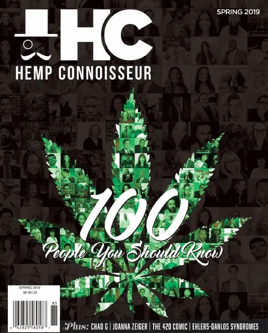 """Andy Rodosevich of Hemp Depot Name to Hemp Connoisseur Magazine's Top """"100 People You Should Know"""""""