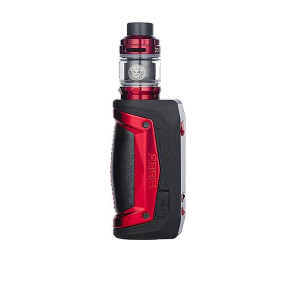 geekvape aegis max kit in black and red colour