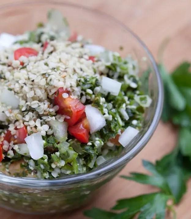 salad hemp