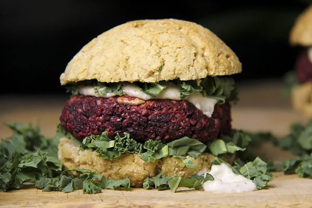 Hemp-Beet-burger