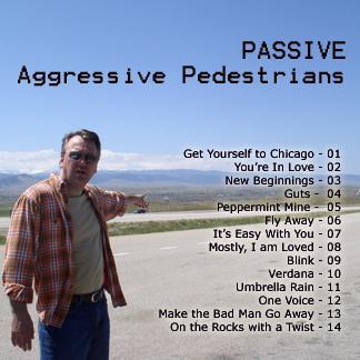 Back side of Passive album