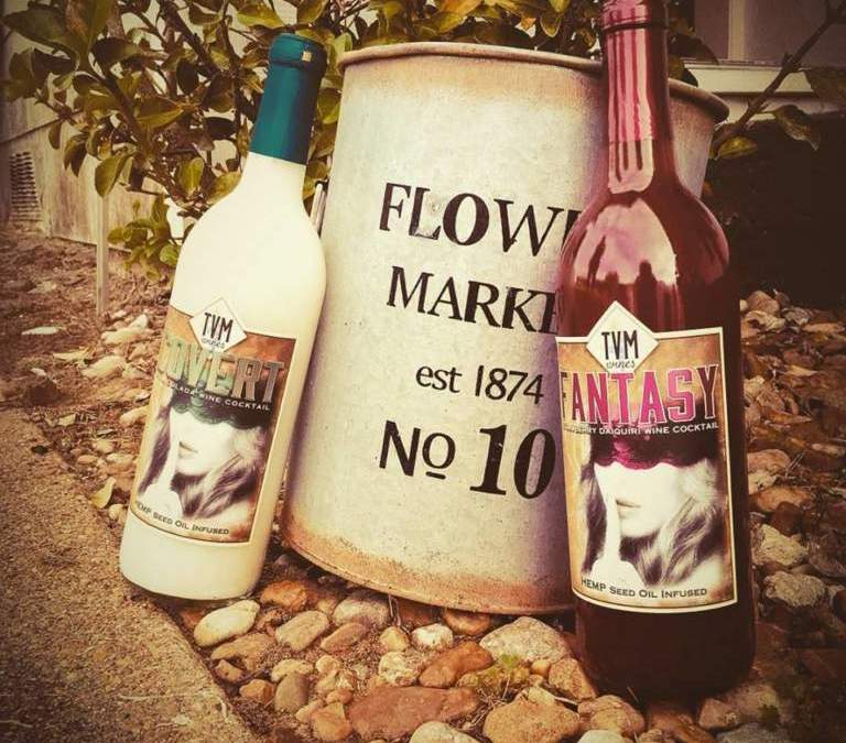 Texas Hemp Wine Arrives on Our Tables