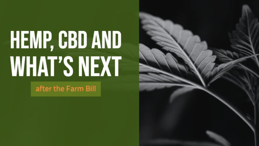 What's Next for HEMP and CBD after the Farm Bill…Socialism?