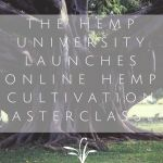 The Hemp University Launches Online Hemp Cultivation Masterclasses