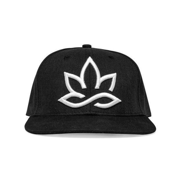 Hempions Hanf-Cap in schwarz Produktfoto