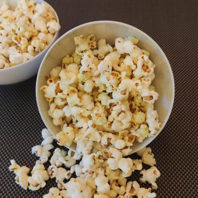 Hanföl Popcorn