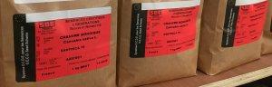 Hemp seeds with correct original labels