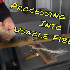 Processing Hemp Into Usable Fibers