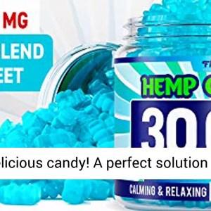 Hemp Gummies 30000 MG - 500 MG Hemp per Gummy- 60 Sweets - Made in USA - Stress Relief - REVIEW