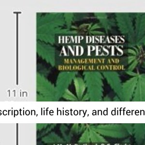 Hemp Diseases and Pests: Management and Biological Control (Cabi) - REVIEW