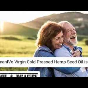 GreenIVe - Hemp Oil - Anti-Inflammatory - Vegan Omegas - Cold Pressed- Exclusively on Amazon- REVIEW