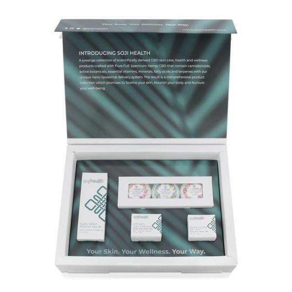 Soji Health Luxe Face Body Holiday Set e1574284673653