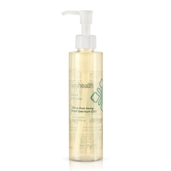 Soji Health Facial Cleanser Rose Bergamot 200mg
