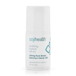 Soji Health Soothing Topical Roll On Eucalyptus Peppermint 200mg