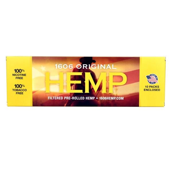1606 Original Hemp Filtered Pre Roll Carton