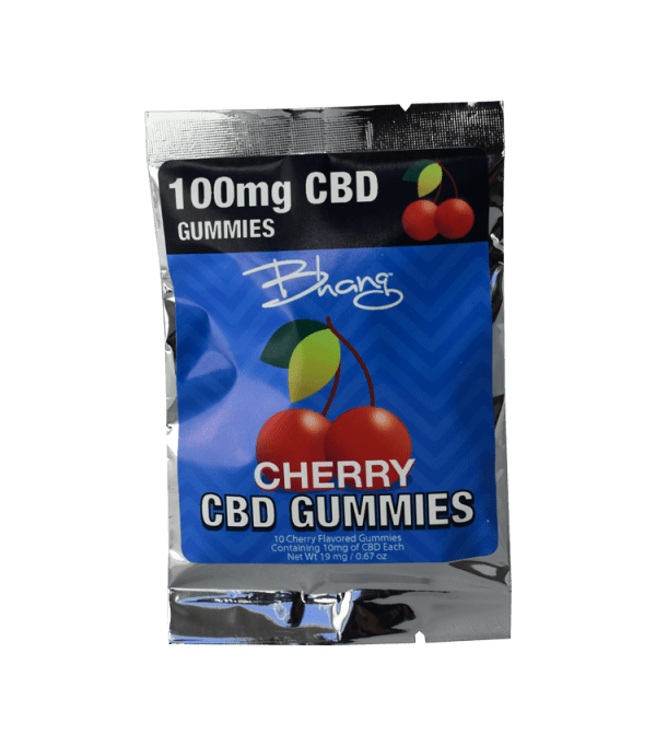Bhang gummies cherry pouch 100mg