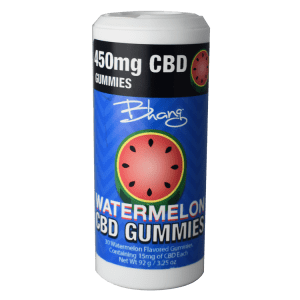 Bhang gummies watermelon tube