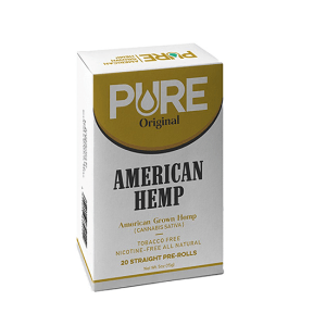 Pure Original Hemp Cigarettes Pack