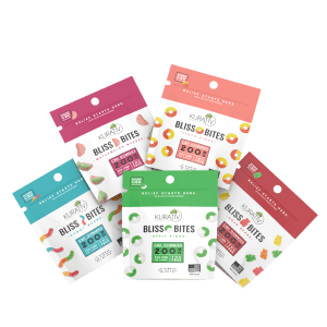Kurativ Bliss Bites CBD Gummies 200mg