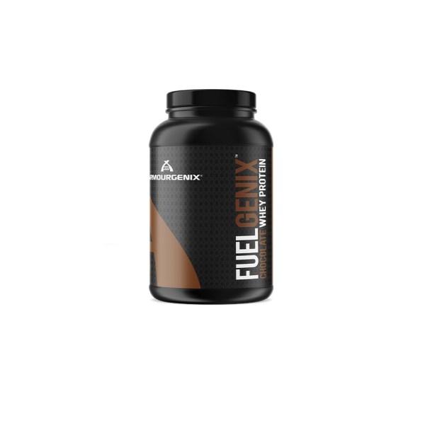 Armougenix fuelgenix whey protein powder chocolate