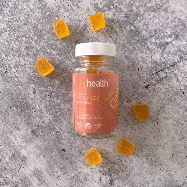 Soji Health Vegan Orange Gummies