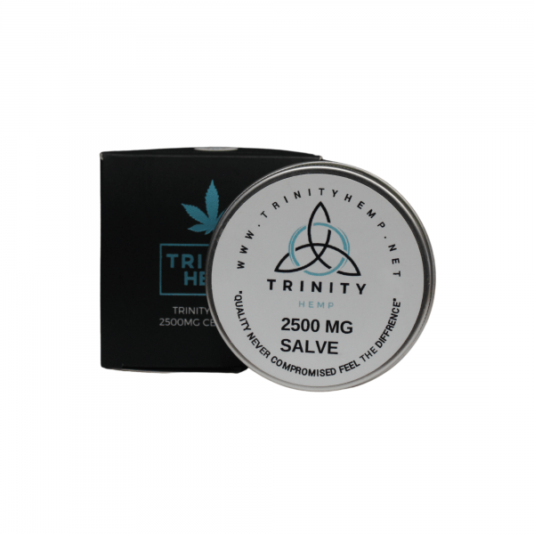 Trinity Hemp THC Free Salve 2500mg