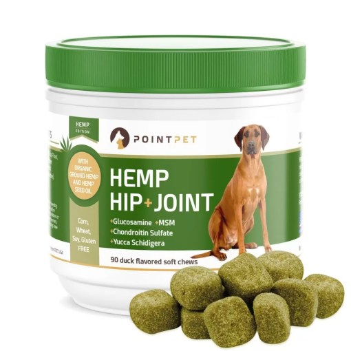 PointPet Advanced Hip and Joint Supplement for Pets