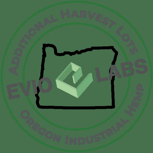 Oregon Hemp Additional Harvest Lots